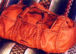 leather duffelbags