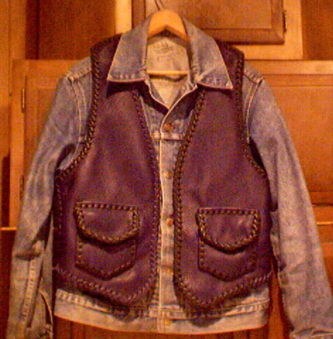leather vests motorcycle